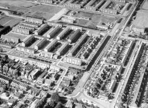 Luchtfoto van Gouda Noord